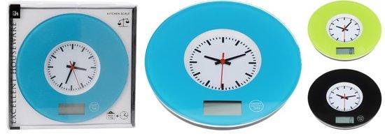 Keukenweegschaal 5kg met klok