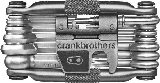 Crankbrothers GRS CBR M TOOL ZAK MODEL ZILVER 19DLG
