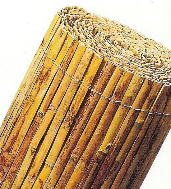 Intergard Tuinscherm bamboemat gespleten - 2mx5m