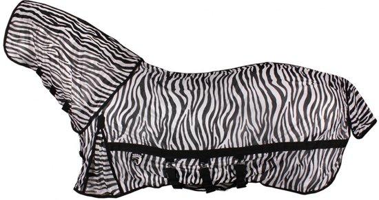 Horka Vliegendeken Met Vliegenmasker Zebraprint Maat 125/175
