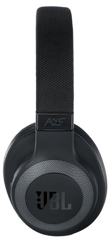 JBL E65BT NC - Draadloze over-ear koptelefoon met noise cancelling - Zwart - JBL