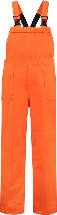 Yoworkwear Tuinbroek polyester/katoen oranje maat 44
