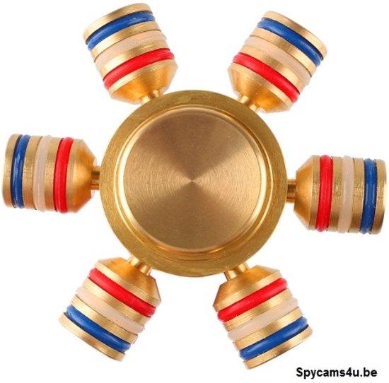Fidget Spinner - Hand Spinner Draaier - Stress verminderende Speel Spinner -  Stress Spinner - Rage van 2017 - Hoge Kwaliteit metalen spinner - Piston