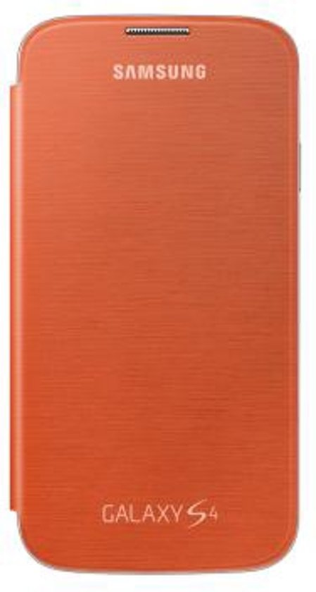 Couverture Flip Original Pour Galaxys4 - Orange 9bqvT7cu,