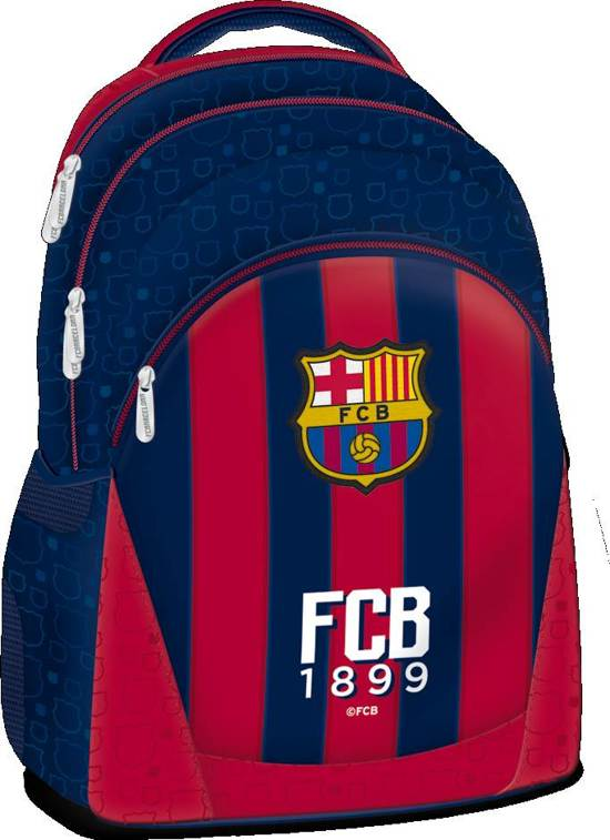 ab6a106aa6e bol.com | FC Barcelona Rugzak - 3 vakken - 47 cm hoog - Rood/Blauw