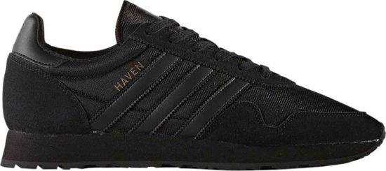 Adidas 350 - Heren Sneakers - Leer - Zwart / Zwart - BY1861 - Maat 44 2/3