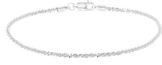 Glams Armband 1,8 mm 18 cm - Zilver