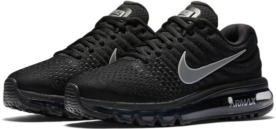 Nike Wmns Air Max 2017 Sneakers Dames BlackWhite Anthracite Maat 38.5