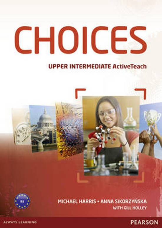 Choices Upper Intermediate Active Teach