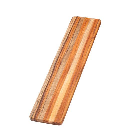 Teakhaus Snijplank - Edge Grain Essentials - Rechthoekig - 55,8 cm x 12,7 cm - Bruin