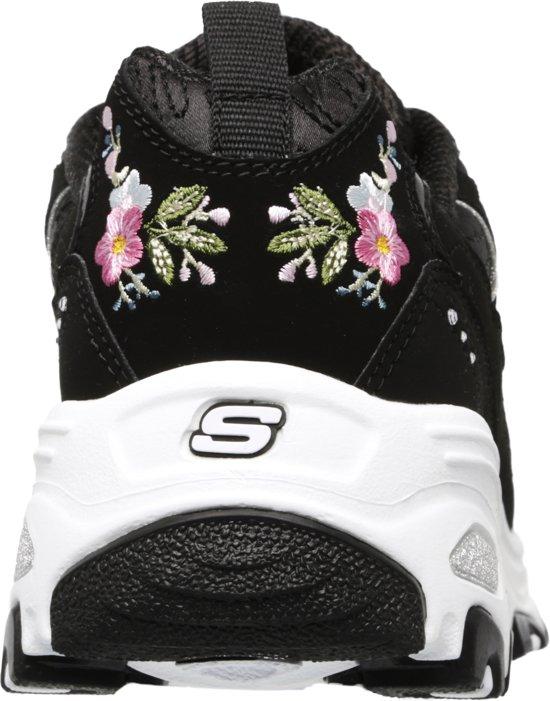 D'lites Sneakers DamesBlack 39 bright Skechers Blossoms Maat XZiuwOPkT