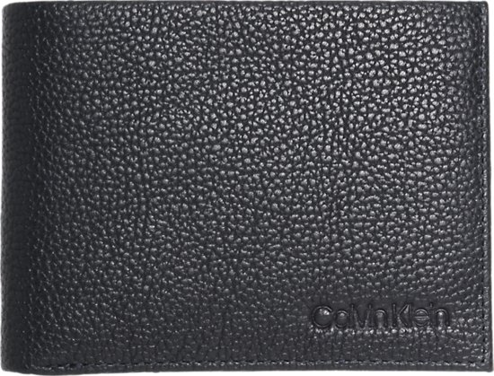 Calvin Klein Portemonnee van bruin leer