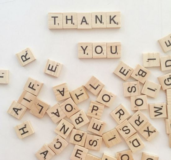 100 stuks Scrabble letters
