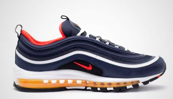low priced a8583 a9329 Nike Air Max 97 921826-403 Blauw Rood-42.5