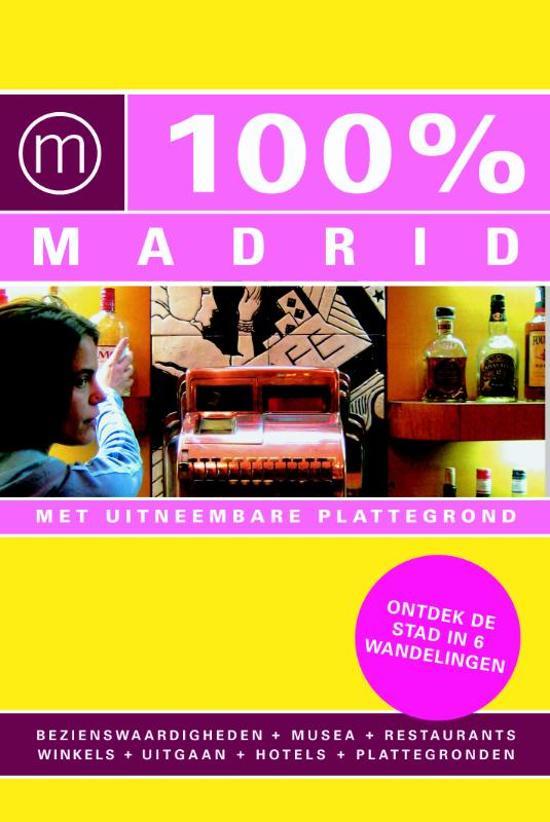 100% Madrid - Voorkant