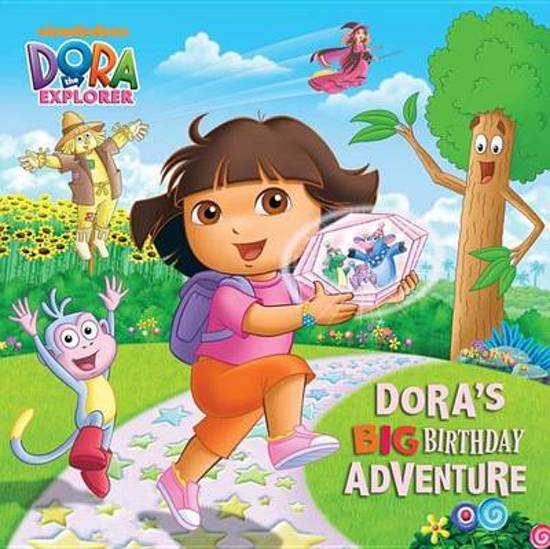 Boek cover Doras Big Birthday Adventure (Dora the Explorer) van Random House (Paperback)