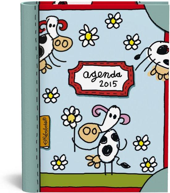Babette agenda 2015 Blauw