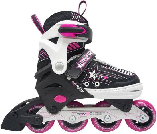 8795e57083c Inline skates MOVE Star Girl, Pink, Maat 30 t/m 33 (verstelbaar