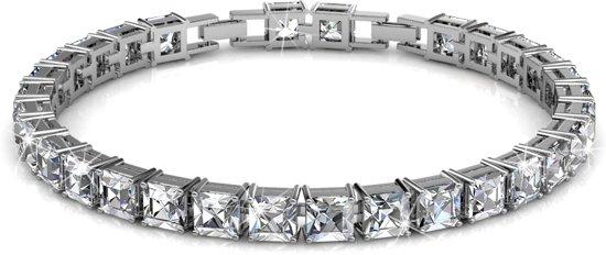 Yolora sieraden - Armband met Crystals from Swarovski ® - Silver Ballerina - Dutch Beauty Design