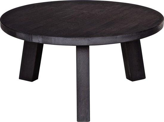 Woood Ronde Tafel : ≥ ronde eettafel zwart woood tafels eettafels marktplaats