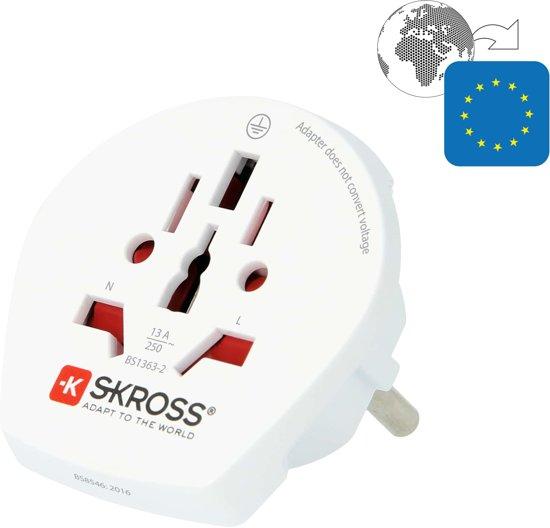 S-KROSS Wereld naar Europa stekker