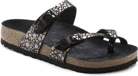 Birkenstock Mayari Dames Slippers - Black  - Maat 36