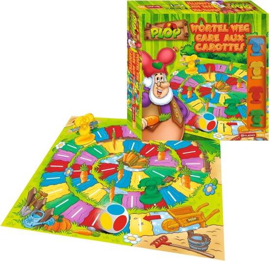 Kabouter Plop Spel Wortel Weg - Kinderspel