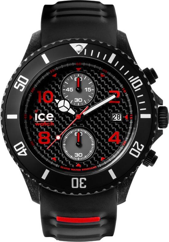Ice-Watch IW001316 Horloge - Siliconen - Zwart - Ø53 mm