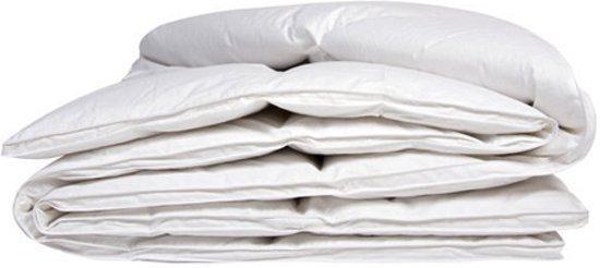 iSleep Donzen Dekbed - Enkel - 100% Dons (Warmteklasse 1) - Litsjumeaux - 240x220 cm - Wit