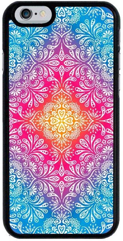 iPhone 6 6S telefoonhoesje - Flowers and Leaves