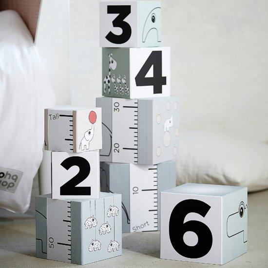 Bouwblokken Cijfers (8st) Done By Deer