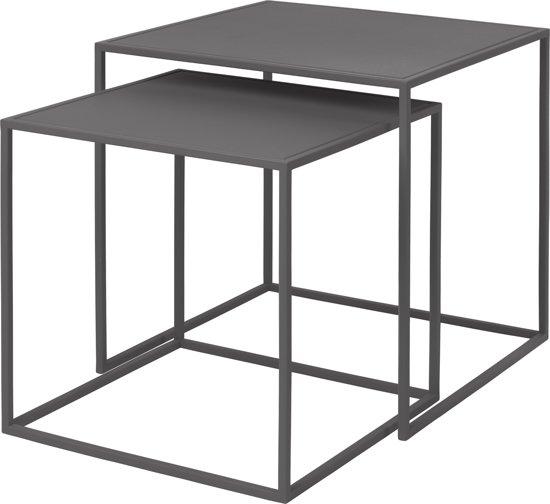 Blomus - FERA bijzettafel Steel Grey (set/2)