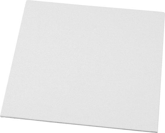 Canvas Paneel, afm 20x20 cm, 10 stuks