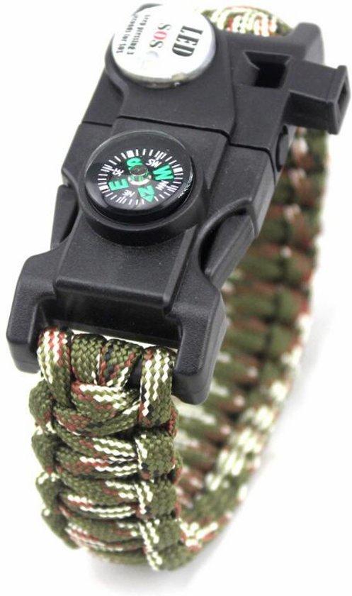Paracord armband met 19 functies!