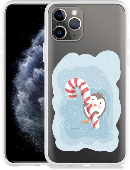 Apple iPhone 11 Pro Hoesje Candy Pinquin