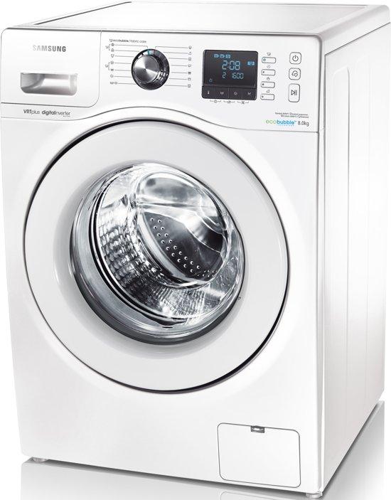 samsung wf80f7e3p6w en eco bubble wasmachine. Black Bedroom Furniture Sets. Home Design Ideas