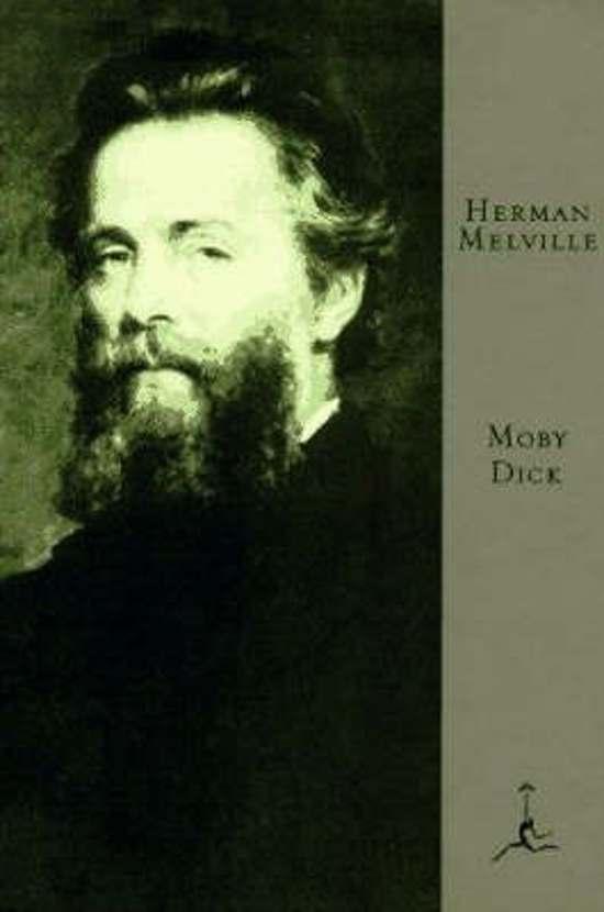 Boek cover Mod Lib Moby-Dick van Herman Melville (Hardcover)