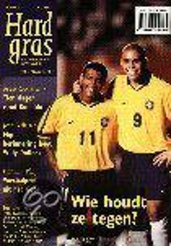 Cover van het boek 'Hard gras / 11 Ronaldo en Romario'