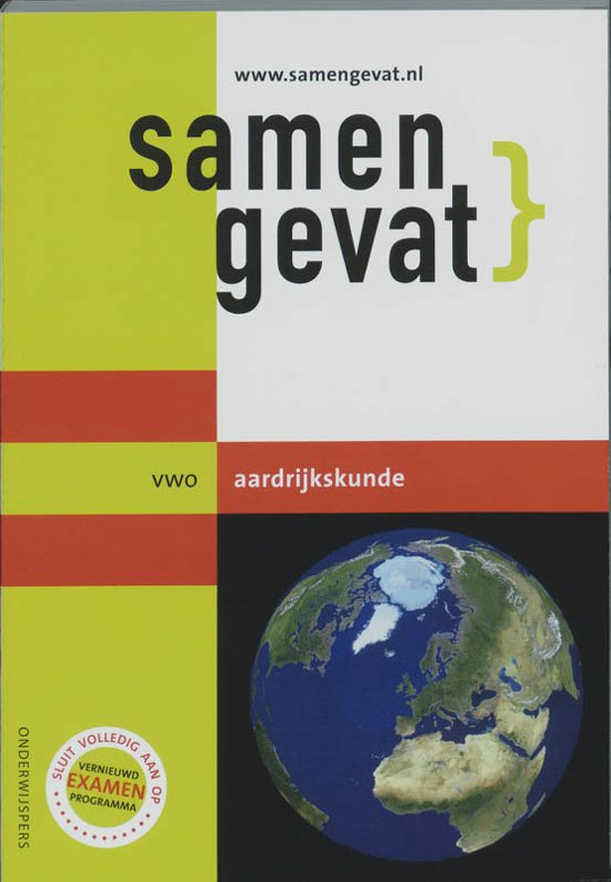 Boek cover Samengevat - VWO -  Aardrijkskunde van H.J.C. Kasbergen (Paperback)