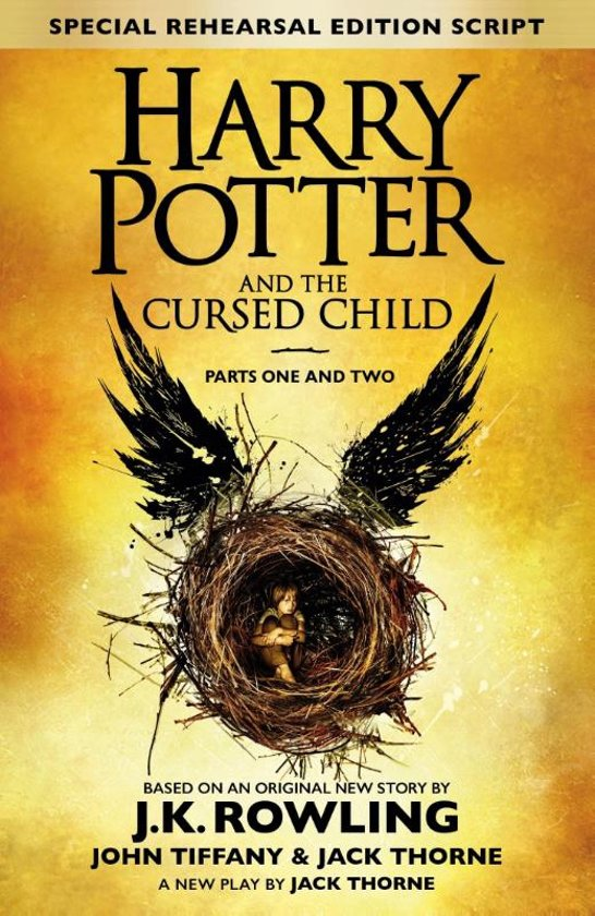 Boek cover Harry Potter - Harry Potter and the Cursed Child van J.K. Rowling (Hardcover)