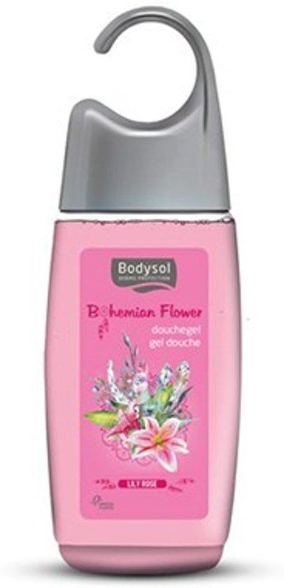 Foto van Bodysol Bohemian Flower Douchegel Lily Rose 250ml