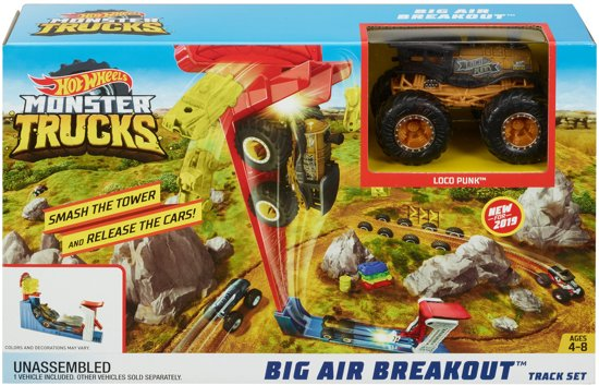 Hot Wheels Monster Trucks Big Air Breakout