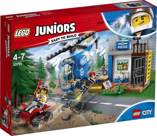 LEGO Juniors City Politieachtervolging in de Bergen - 10751