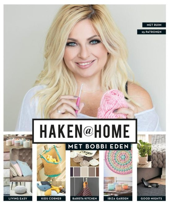 Bolcom Haken At Home Met Bobbi Eden Bobbi Eden 9789024582464