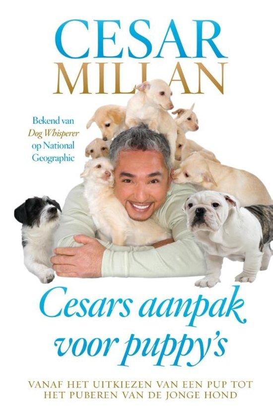Boek cover Cesars aanpak voor puppys van Cesar Millan (Paperback)