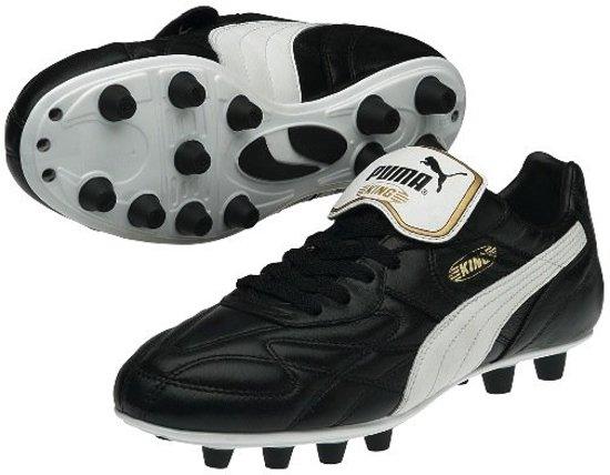 Puma Roi Top Fg Chaussures De Football Noir / Blanc LyQ9hRaCR