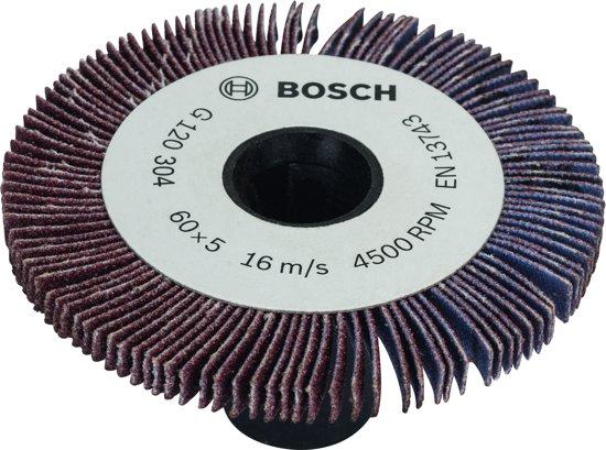 Bosch lamellenrol 5 mm - korrel 120