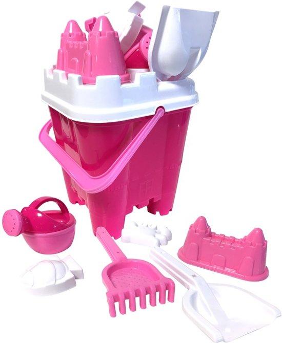 Zandkasteel emmerset roze - zand speelgoed