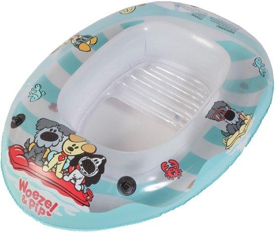 Rubo Toys Opblaasboot Woezel En Pip 100x67cm