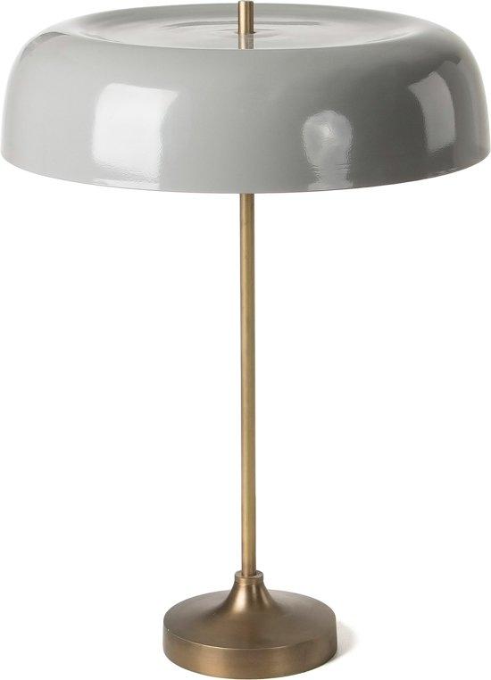 Kave Home BENN - Tafellamp - Grijs